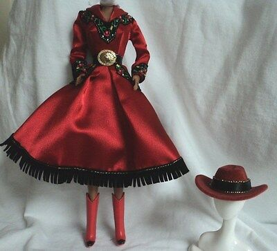 Darling COUNTRY ROSE Ensemble  for Barbie, Fashion Royalty or Friend