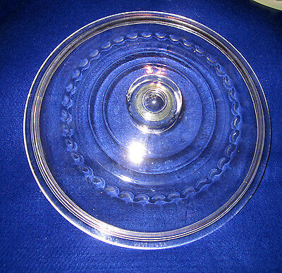 "Vintage C-10 12"" Wagner Ware Glass Replacement Lid for Cast Iron Skillet or Pot"