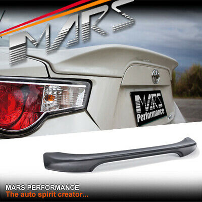 TRD Style ABS Plastic Rear Trunk Lip Spoiler for TOYOTA 86 GT GTS & SUBARU BRZ