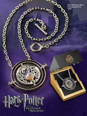 New: Harry Potter - Sterling Silver Time Turner Necklace by Noble Collection