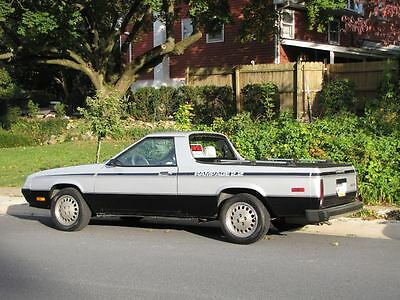 Dodge : Other 2-door Pickup Body Style 1984 dodge rampage