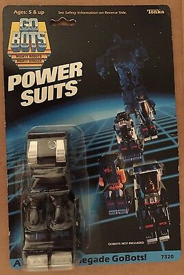 Vintage GoBots Power Suits for Renegade Armor GB P4 Bandai Tonka MOC NEW Blue