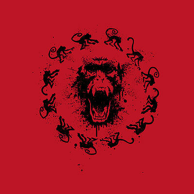 12 MONKEYS Army James Cole Railly Goines SYFY Limited Edition Mens T-Shirt M-2XL