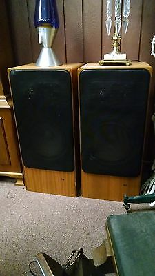 FANTASTIC SET OF BRAUN L1030/8 SPEAKERS SOUND AWESOME GERMANY FREE USA SHIPPING!