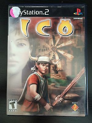 PS2 ICO Sony PlayStation 2 Game Works Great!