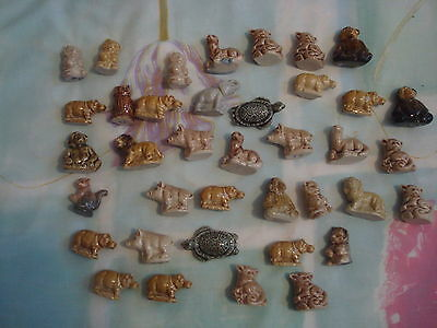 Large Collection of Vintage Wade Whimsies approximately 252 in total