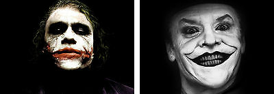 The Joker Old & New Poster Set - A4 A3 A2 A1 Sets Available