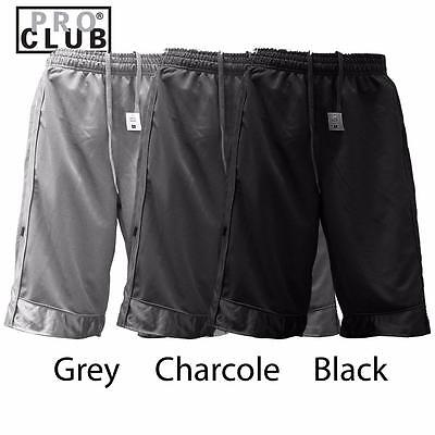 New Proclub Men Heavy Weight Basketball Style Mesh Shorts Pants Size S - 5Xl