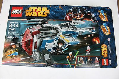 LEGO Star Wars 75046 Coruscant Police Gunship Only - HARD TO FIND No Minifigs no