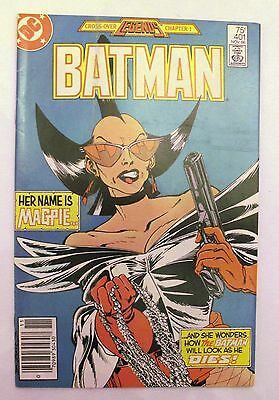 Batman Cross-Over Legends Chapter 1 Comic from Nov 1986 DC 4.0 VG MAGPIE