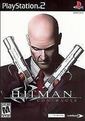 Hitman: Contracts (Sony PlayStation 2, PS2,  2004) **DISC ONLY**