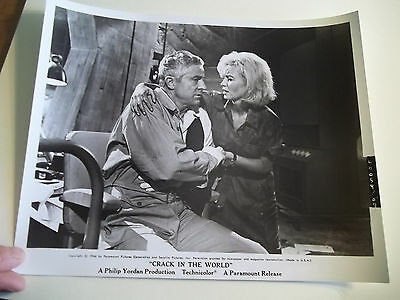 Vintage 1964 CRACK IN THE WORLD Sci Fi Movie Press Photograph #87