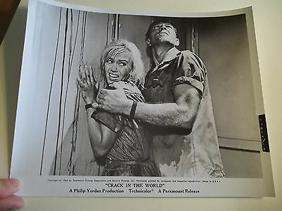 Vintage 1964 CRACK IN THE WORLD Sci Fi Movie Press Photograph #90