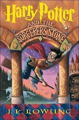 Harry Potter and the Sorcerer's Stone 1 by J. K. Rowling (1998, Hardcover)