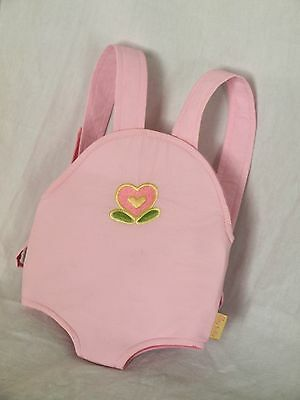 AMERICAN GIRL Bitty Baby Doll Pink Front Carrier Sling Bjorn RETIRED RARE VHTF!