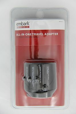 EMBARK All In One Travel Adapter Use Electronic Devices In 150 Countries New