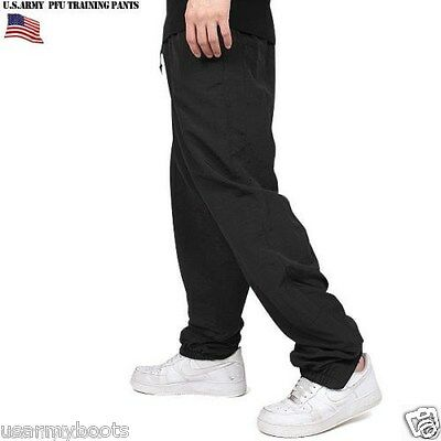 US Army Military IPFU Physical Fitness Training PT Black NEW Sweat Pants M /L GI