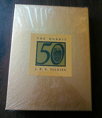 The Hobbit 50th Anniversary GOLD Edition - 1987 edition - Sealed