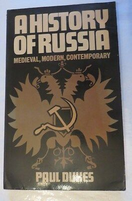A history of Russia by Paul Dukes – 1974