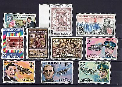 Spain small lot of Mint Never Hinged stamps 018