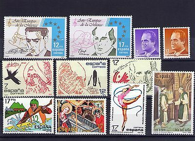 Spain small lot of Mint Never Hinged stamps 030
