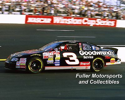 DALE EARNHARDT SR #3 GM GOODWRENCH RICHMOND 1998 NASCAR 8X10 PHOTO WINSTON CUP