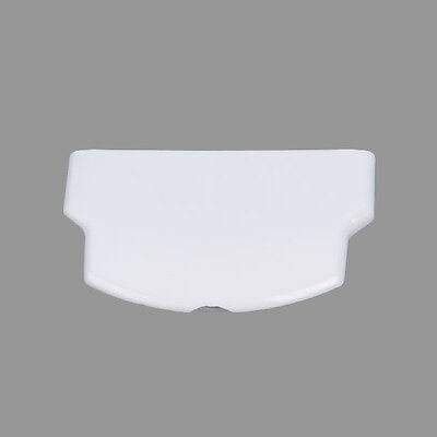 White Glossy Battery Case Cover Back Door Replacement for Sony PSP2000/3000