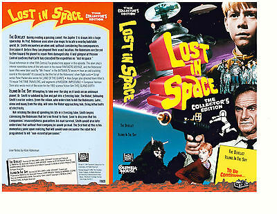 "Lost In Space Columbia House VHS ""The Derelict"" & ""Island In The Sky"" (1994)"