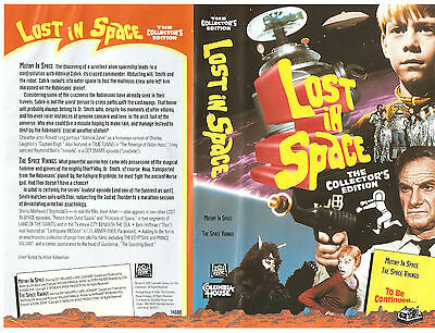 "Lost In Space Columbia House VHS ""Mutiny In Space"" & ""The Space Vikings"" (1996)"