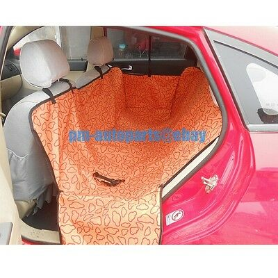 PM 600D Waterproof Fabric Car Seat Protector Cover Hammock New for Dog Cat Pets