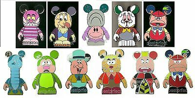 DISNEY PIN VINYLMATION ALICE IN WONDERLAND w/ MYSTERY CHASERS COMPLETE YOUR SET