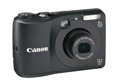 Canon PowerShot A1200 12.MP Digital Camera - Point and Shoot, 720p HD Video