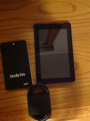 Amazon Kindle Fire 1st Generation 8GB, Wi-Fi, 7in - Black