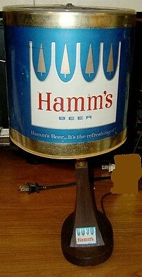 1960's Hamm's Beer Lighted Heat Motion Sign - It's The Refreshingest!