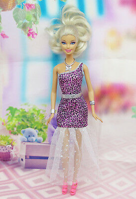 High quality Original wedding gown wears clothes Outfit Barbie Doll Party A4