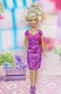 High quality Original wedding gown wears clothes Outfit Barbie Doll Party A5