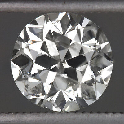 1.23ct VINTAGE OLD EUROPEAN CUT DIAMOND LOOSE I COLOR ART DECO NATURAL ANTIQUE