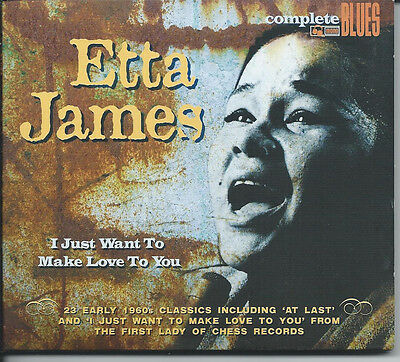 I Just Want to Make Love to You [Digipak] by Etta James (CD, Feb-2012, Snapper)