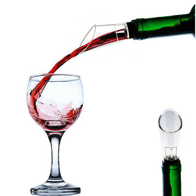 1pc Party White Red Wine Aerator Pour Fast Spout Decanter Alcohol Accessories