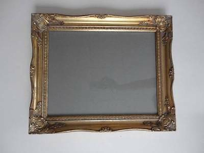 """Beautiful Ornate Gold Gilt Picture Frame With Glass & Back 17"""" x 14"""""""