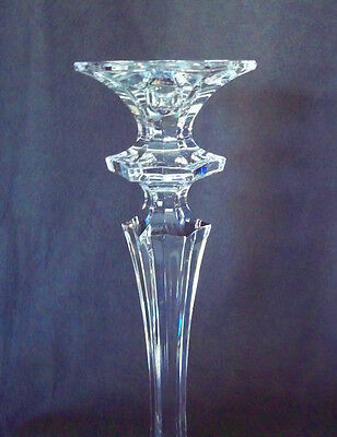 SALE! Tall, Elegant, Mikasa King's Court Crystal Candlestick - RARE Style! SALE!