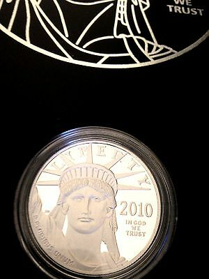 2010 W 1 oz Proof Platinum American Eagle Coin US Mint Box !! RARE !!  FLAWLESS!
