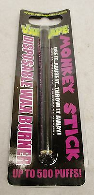 Vape Ape Monkey Stick Disposable Concentrate Burner Use & Abuse It Throw It Away