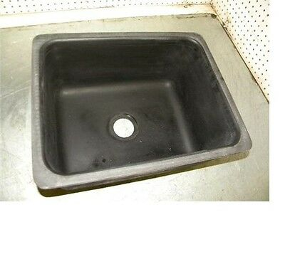"Epoxyn EPL-15C resin drop-in sink 16""x12""x8"" color black EPL15C"