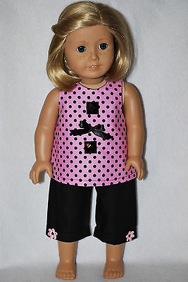 """Doll Clothes fit 18 """" American Girl dolls handmade in the USA. by Grandma"""