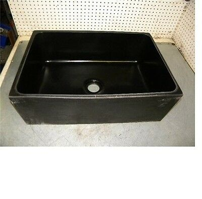 "Epoxyn EP-50C Undermount sink black resin 24""x16""x8"" EP50C"