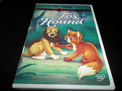 Walt Disney Fox and the Hound DVD 1981 Gold Colection Mickey Rooney Kurt Russell