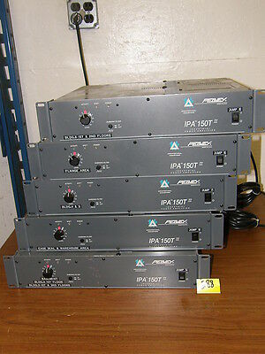 Peavey Industrial Power Amplifier  Ipa 150T Ii