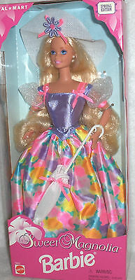 "BARBIE - ""SWEET MAGNOLIA"" #15652 from 1996 - SPEC.. ED.  from WALMART !!  NRFB"