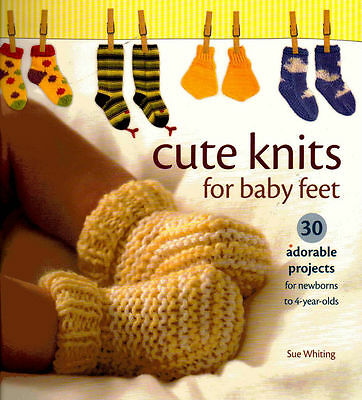 Adorable & Easy Cute Knits for Baby Feet Knitting Pattern Book Brand New